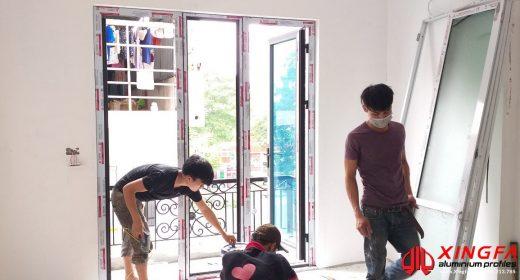 Công Trình Thi Công Cửa Nhôm Xingfa Tại Trần Điền, Hà Nội