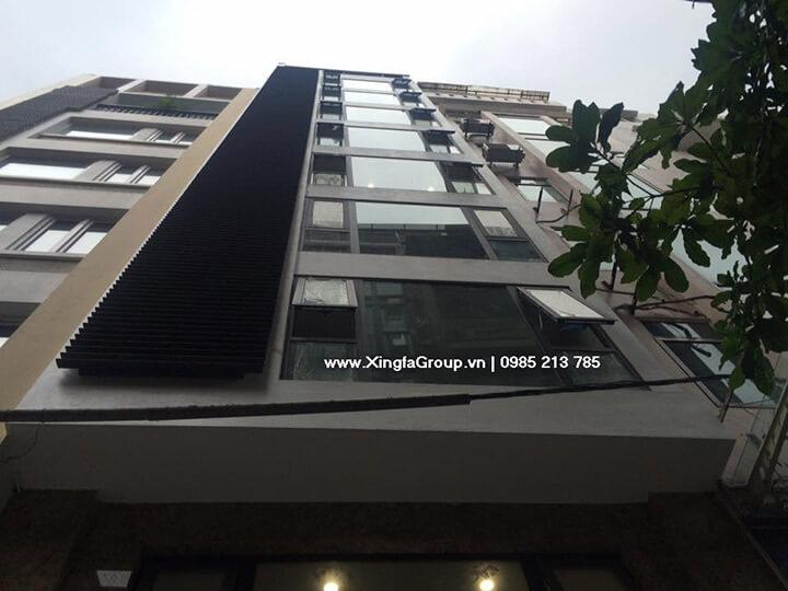 Công trình lắp đặt cửa nhôm Xingfa nhập khẩu tại Khách sạn Minika