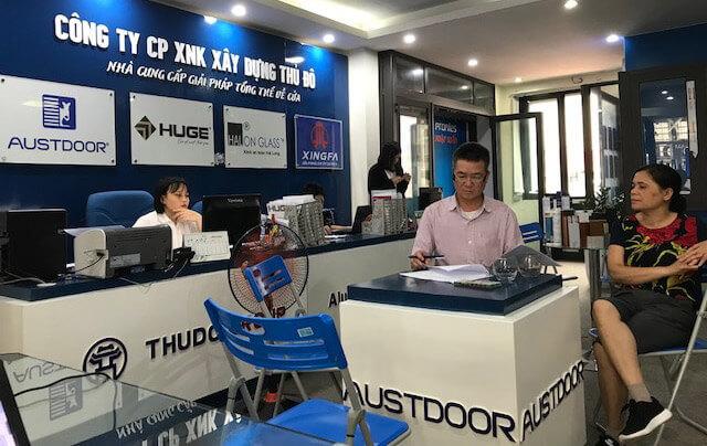 Quý khách hàng ký kết hợp đồng kinh tế trực tiếp về thi công lắp đặt cửa nhôm Xingfa nhập khẩu