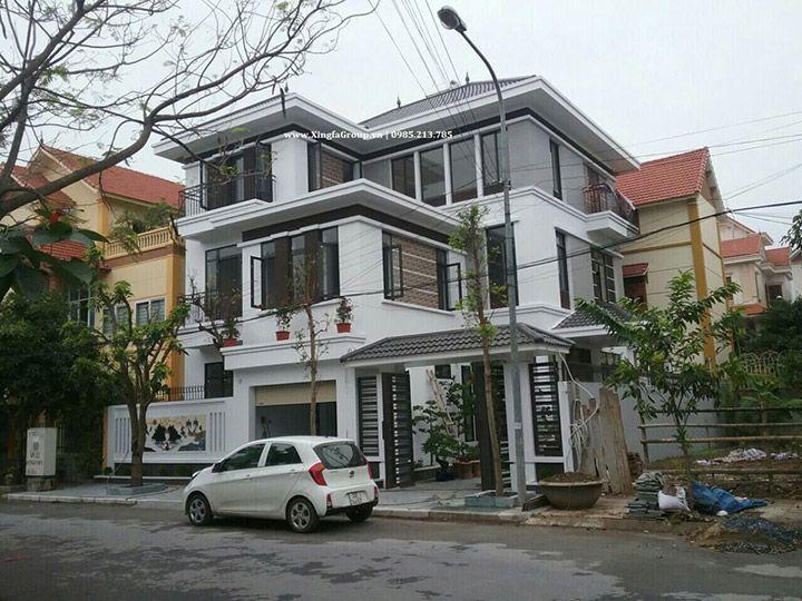 Thi công lắp đặt hạng mục cửa nhôm Xingfa nhập khẩu tại tỉnh Thái Bình