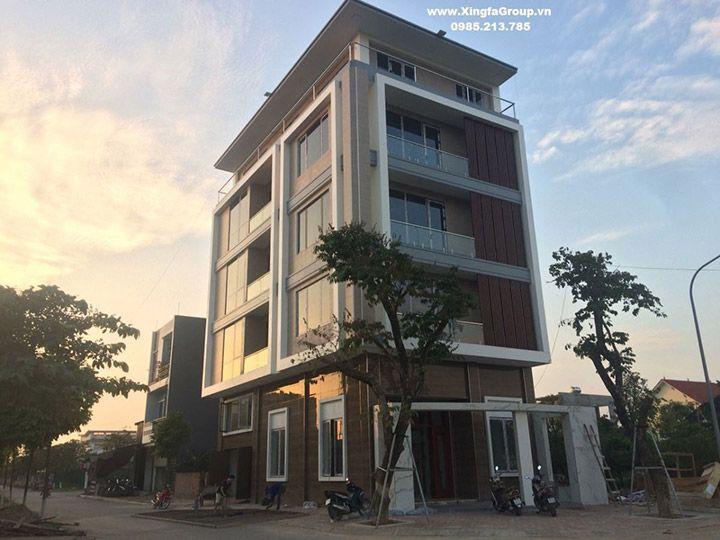 Thi công lắp đặt công trình cửa nhôm Xingfa tại Nguyên Khê