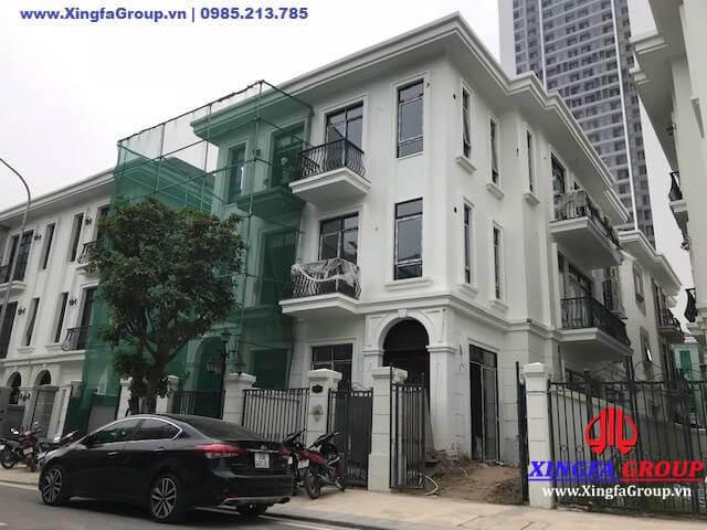 Thi công lắp đặt cửa nhôm Xingfa tại KĐT Vinhomes GreenBay
