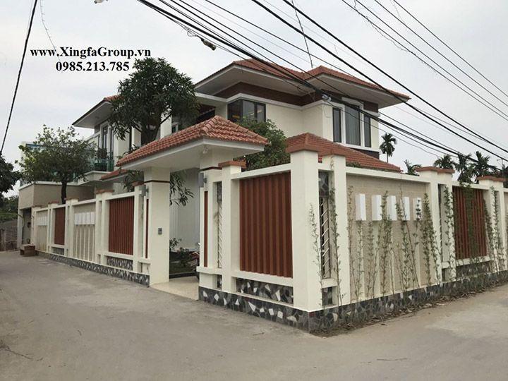 Thi công lắp đặt cửa nhôm Xingfa nhập khẩu tại Biệt thự