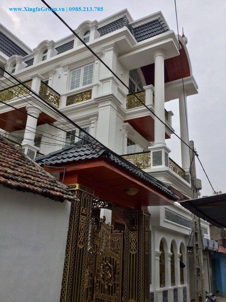 Thi công lắp đặt cửa nhôm Xingfa nhập khẩu tại nhà anh Bình ở Tp.Lào Cai