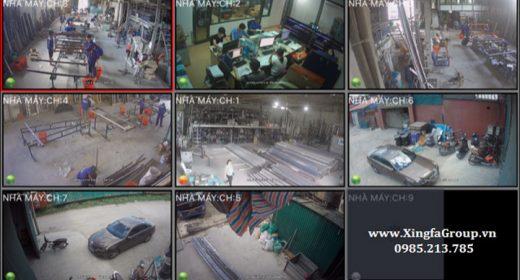 Quy trình sản xuất Cửa nhôm Xingfa tại Nhà Máy